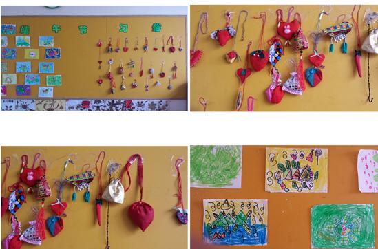 泰安长城中学幼儿园端午节主题活动图片